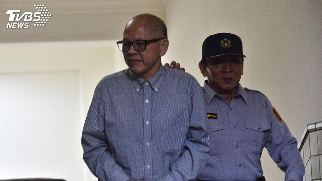 圖/中央社 被控收賄! 林錫山二審判刑15年