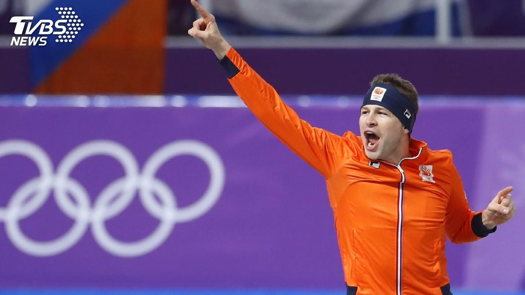 圖/達志影像美聯社 男子5千競速滑冰 荷蘭名將破奧運紀錄拿冠軍