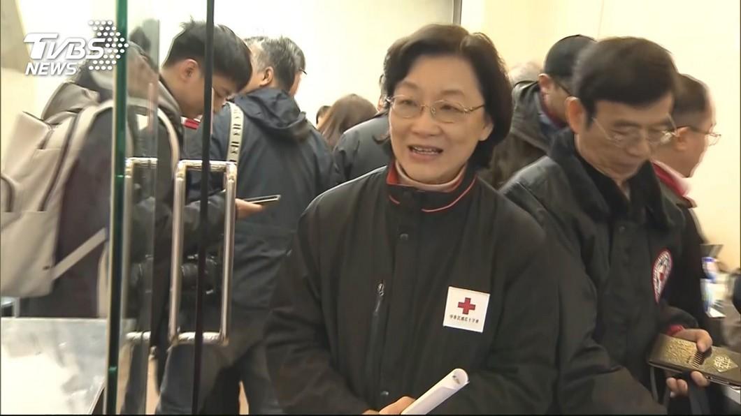 圖/TVBS 紅十字監督災款! 王清峰:我們零缺失