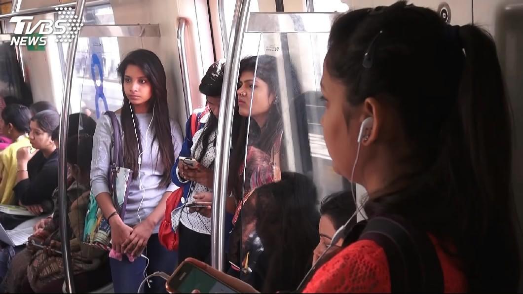 圖/TVBS 女性單獨旅行勿往! 印度22分鐘一人遭性侵