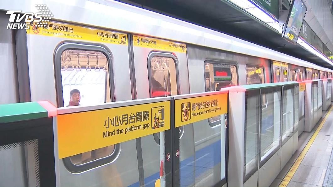 示意圖/TVBS 快訊/中和新蘆線「列車車門異常」 北捷:已排除