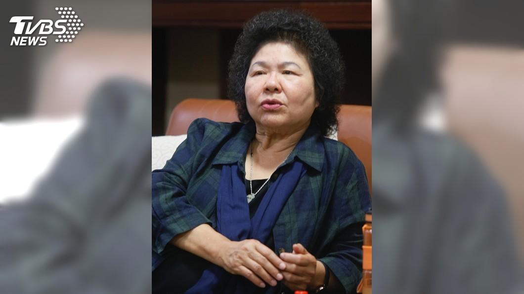 圖/中央社 陳菊駁零互動! 跟謝長廷快40年好朋友
