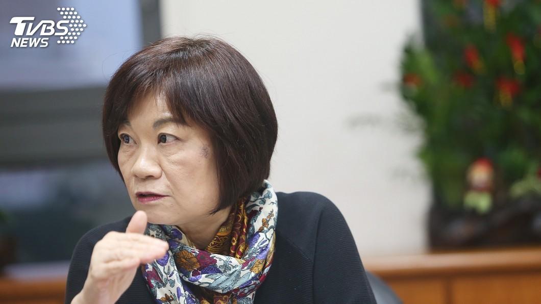 圖/中央社 藍指政治檔案條例是追殺 陳美伶:沒有針對性