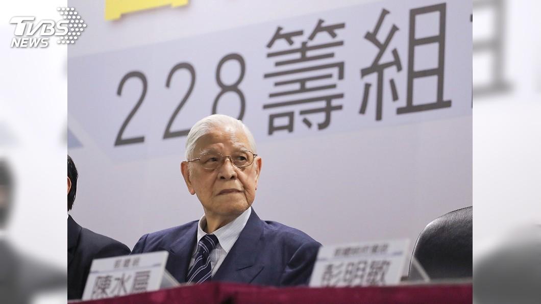 前總統李登輝於民國109年7月30日病逝於台北榮總。(圖/TVBS資料畫面) 兒子李憲文過世…李登輝親手抱著遺體走到太平間