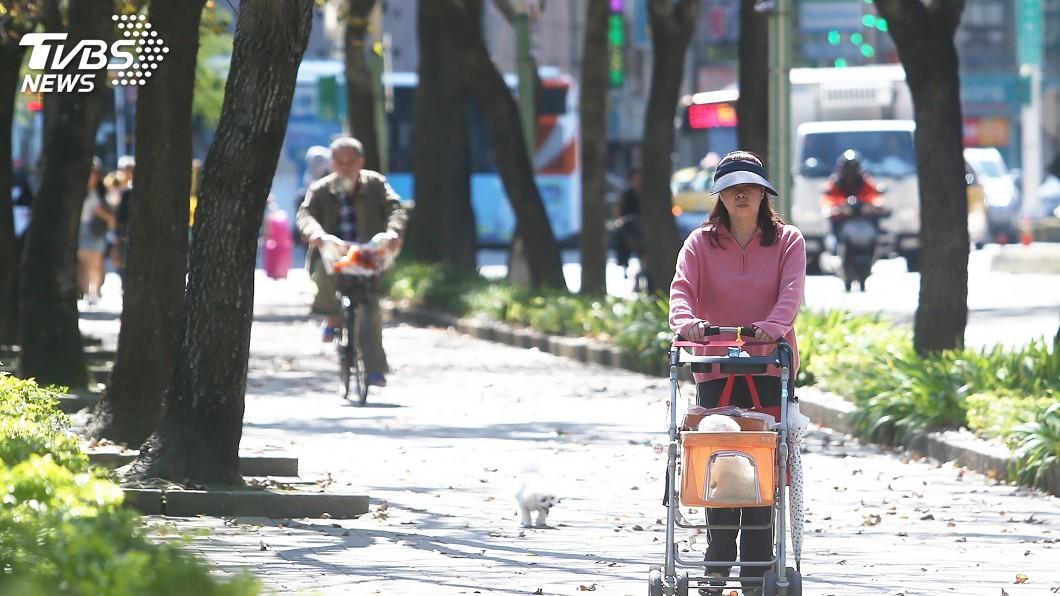 圖/中央社 24日起東北季風減弱 耶誕節可望「溫暖如春」