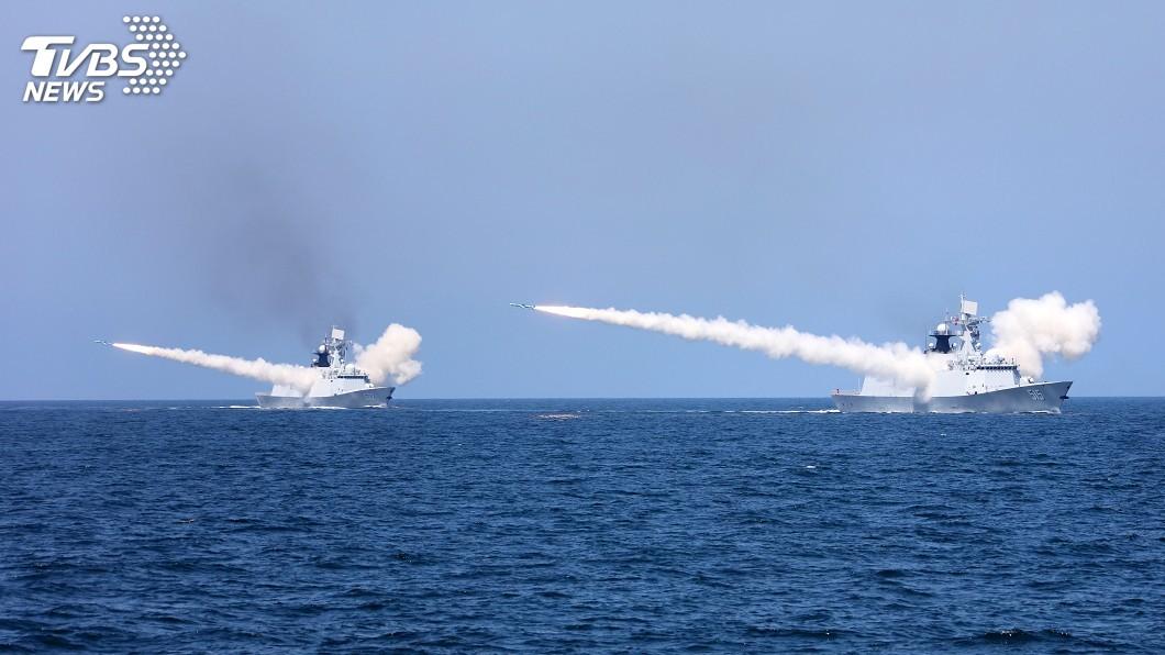 圖/達志影像路透社 中國艦艇頻越黃海中線 南韓抗議北京不理