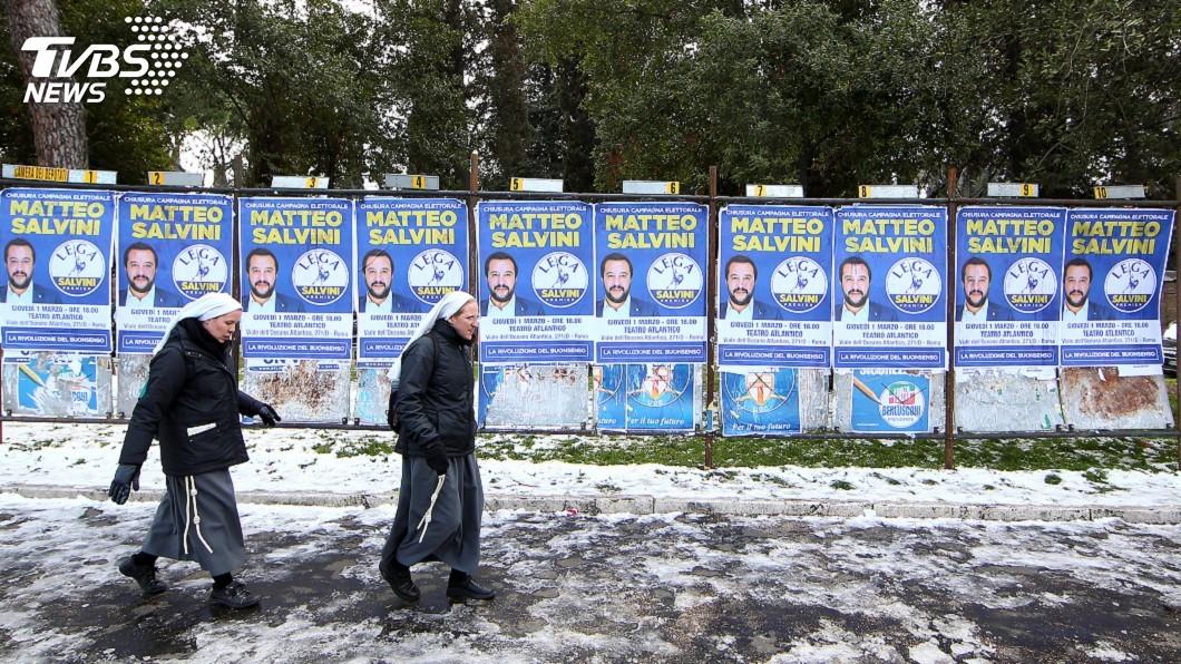 圖/達志影像路透社 義大利大選在即 年輕人用腳投票海外找工作