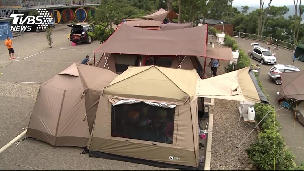 圖/TVBS 露營風氣更勝野餐 網購買氣加溫