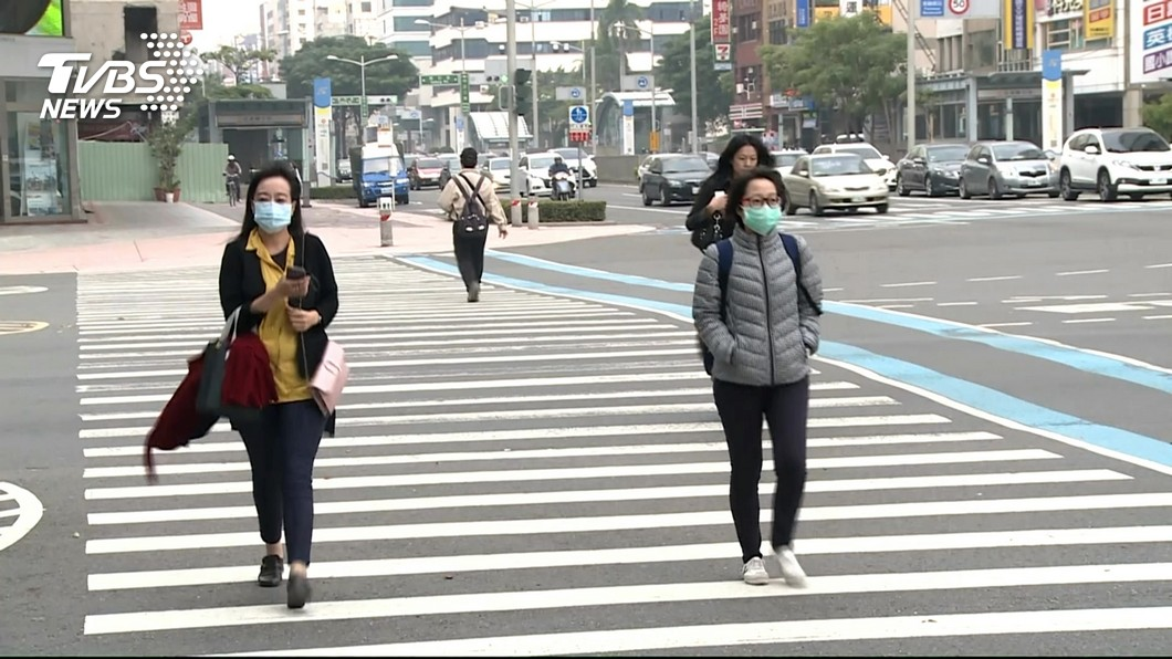圖/TVBS資料畫面 快訊/沙塵暴襲! 台西空品破紫爆達「危害」等級
