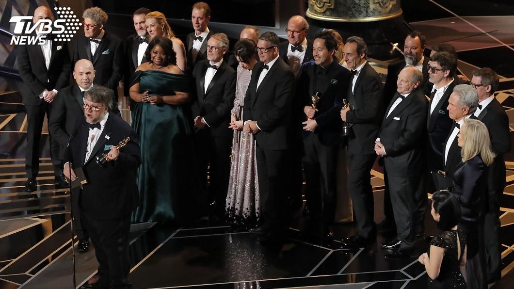 圖/達志影像TPG 《水底情深》囊括4項大獎 奧斯卡最大贏家