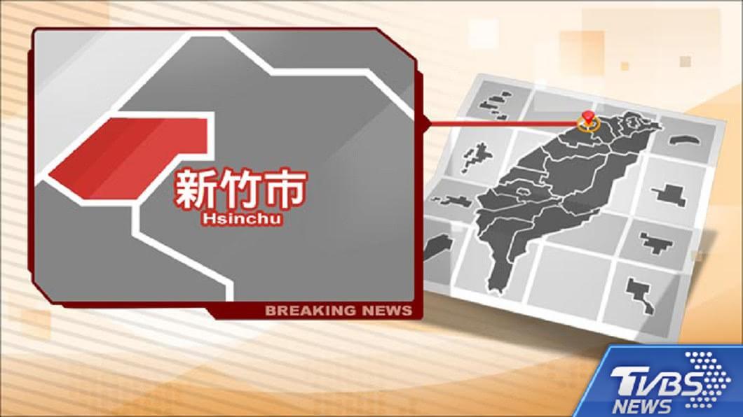 圖/TVBS 快訊/強風吹斷2條饋線 新竹停電影響逾6千戶
