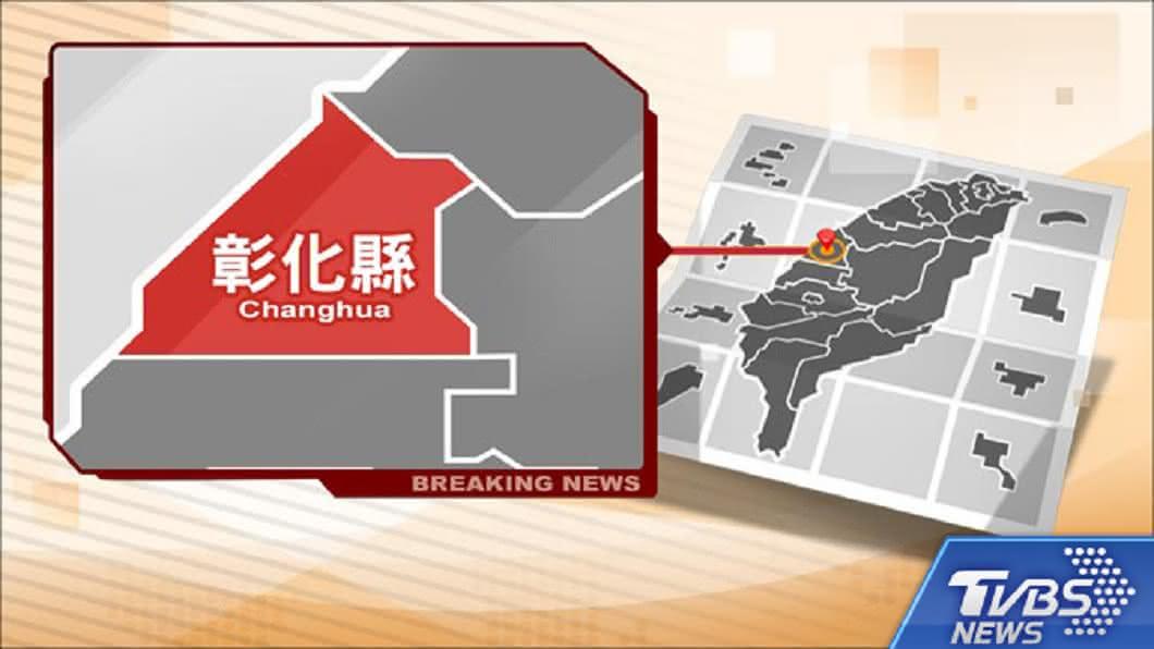 圖/TVBS 快訊/彰濱塑料回收場大火 濃煙烈火衝天