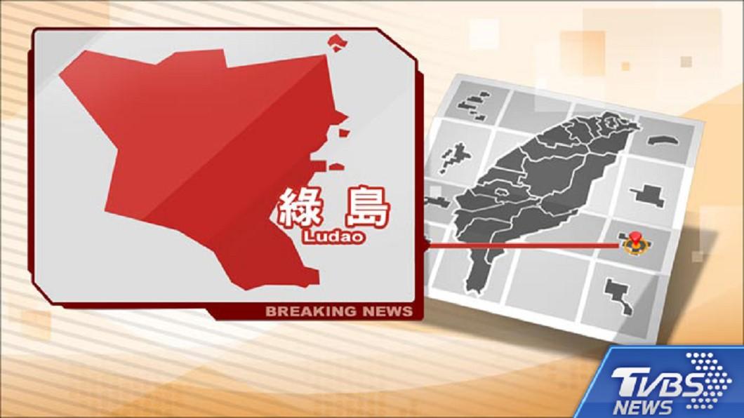 圖/TVBS 快訊/受玉兔外圍環流影響 綠島航線部分停航
