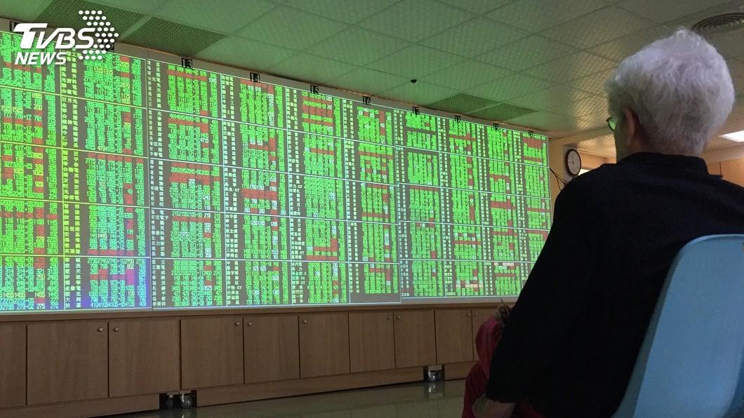 (圖/中央社) 蘋概三王領跌 台股跌116點失守12600點