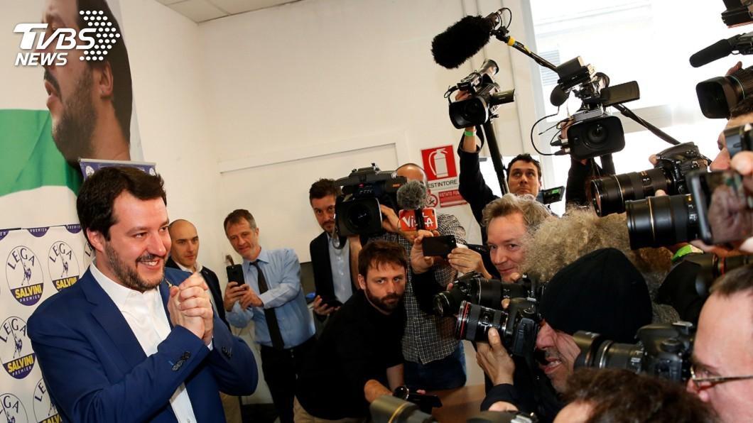 圖/達志影像路透社 右派勢力席捲義大利  移民憂心恐遭遣返