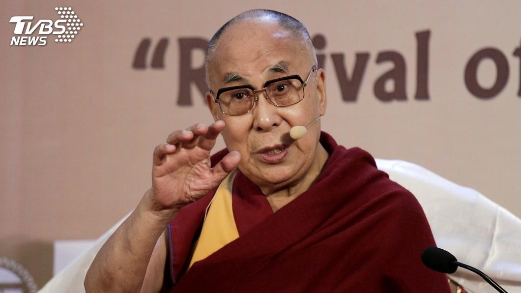 圖/達志影像美聯社 事涉敏感 達賴喇嘛新德里兩場流亡紀念活動取消