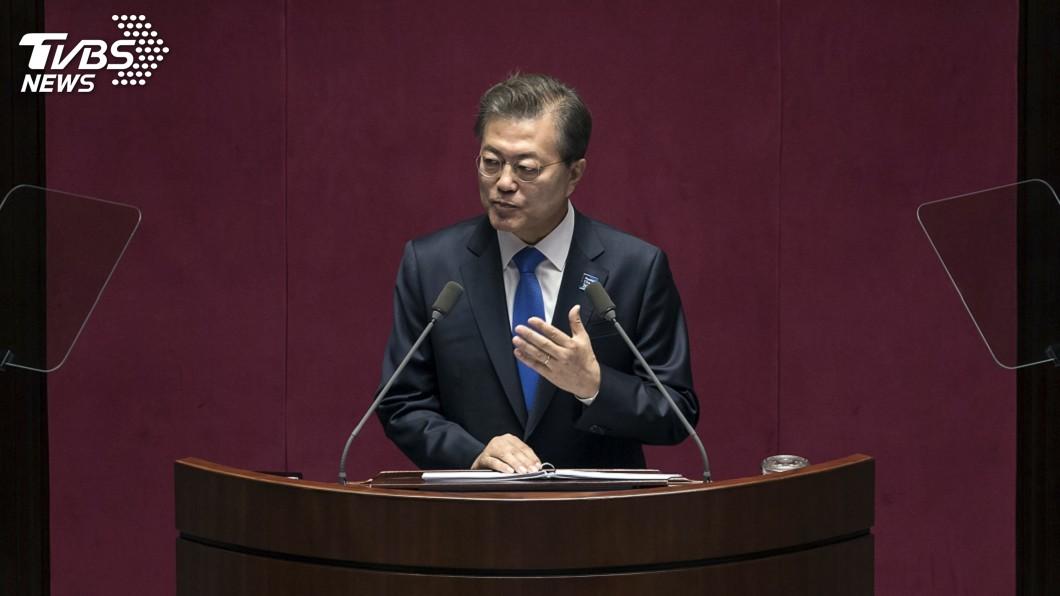 圖/達志影像美聯社 南韓總統:應具備應對北韓威脅的力量