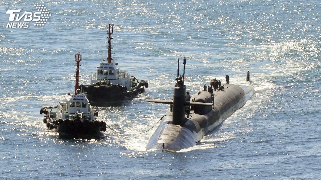 圖/達志影像美聯社 專家:陸核潛艇噪音降低  將達世界水準