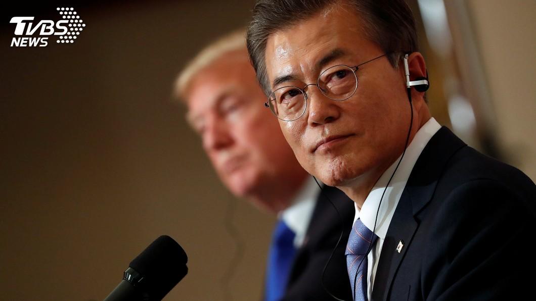 圖/達志影像路透社 強調美國角色 文在寅稱對北韓樂觀嫌早