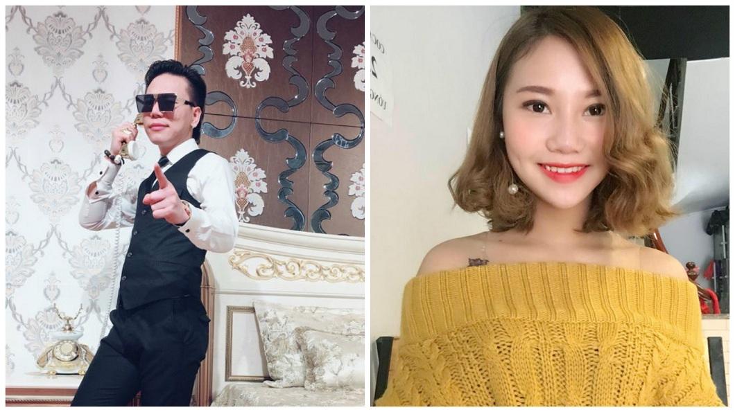 越南偶像歌手阮越強硬塞女友人33顆大蒜,導致對方窒息而死。(合成圖/翻攝自臉書) 男偶像開毒趴變「驅魔師」 硬塞33顆大蒜害正妹噎死