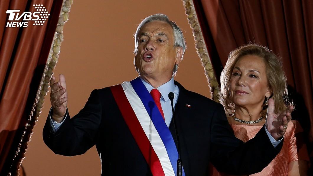 圖/達志影像路透社 智利億萬富豪就任新總統 承諾振興經濟