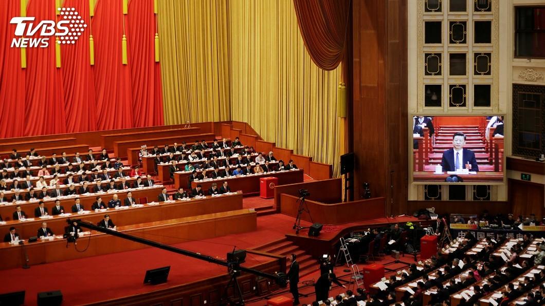 圖/達志影像路透社 中共官媒評修憲:西方不懂中國民意 缺少謙遜
