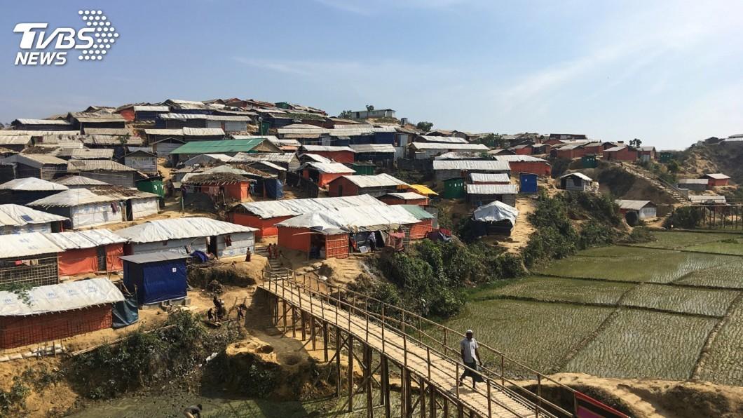 圖/達志影像路透社 維安進駐洛興雅村 國際特赦:掠奪土地