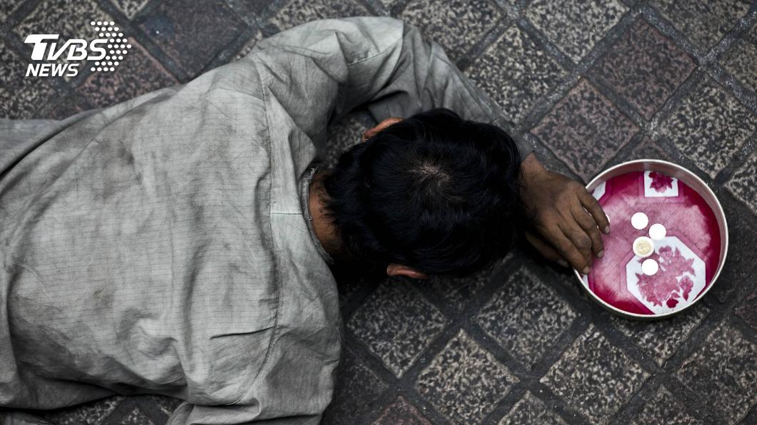 圖/達志影像美聯社 勞工要哭了!曼谷專業乞丐日賺5千泰銖