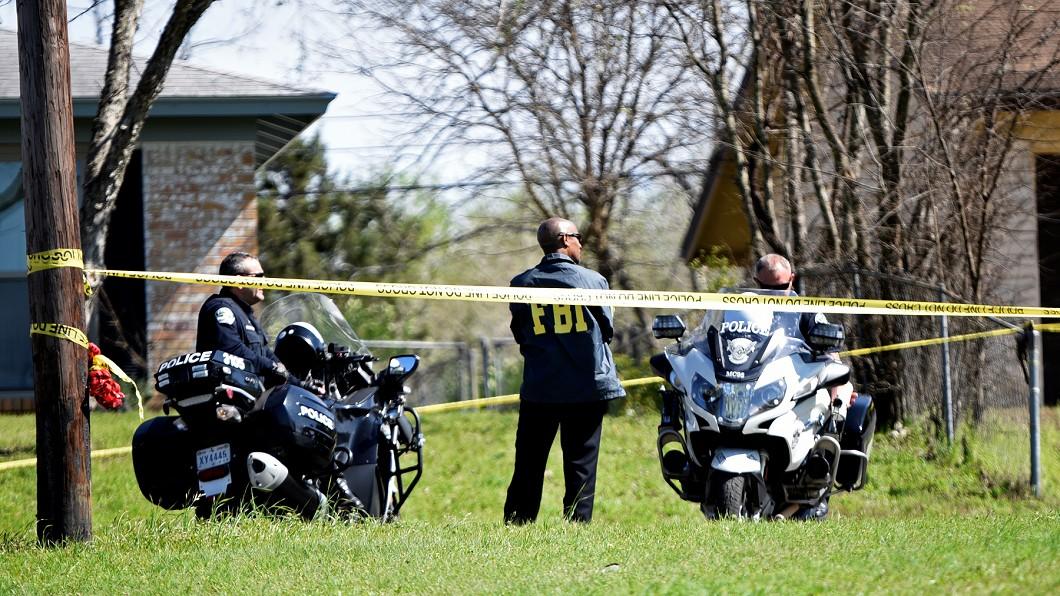 圖/達志影像路透社 德州連環包裹炸彈攻擊 11天內3起釀2死