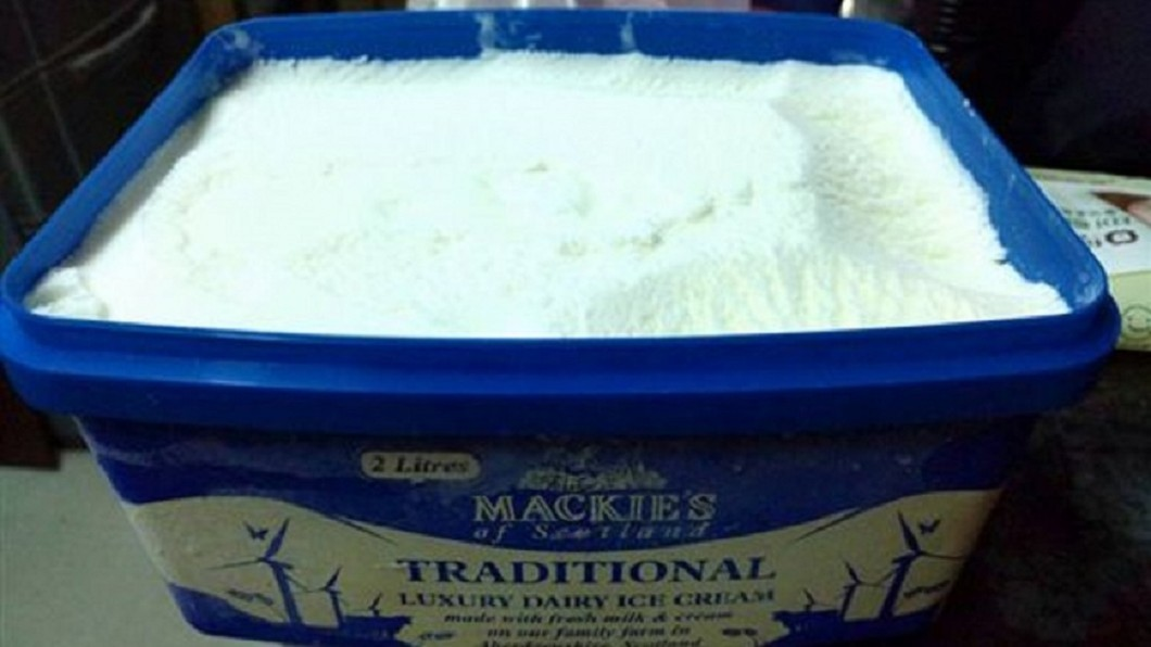 牛奶冰淇淋成為好市多新寵。圖/臉書 COSTCO好市多消費經驗分享區