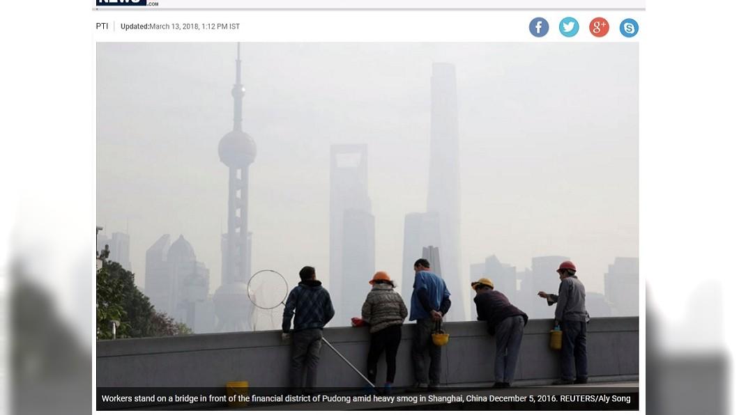 陸空汙改善 專家稱北京民眾可多活3年
