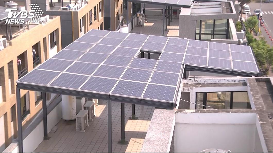 圖/TVBS 用電量改寫歷年7月新高 太陽能挹注100萬瓩