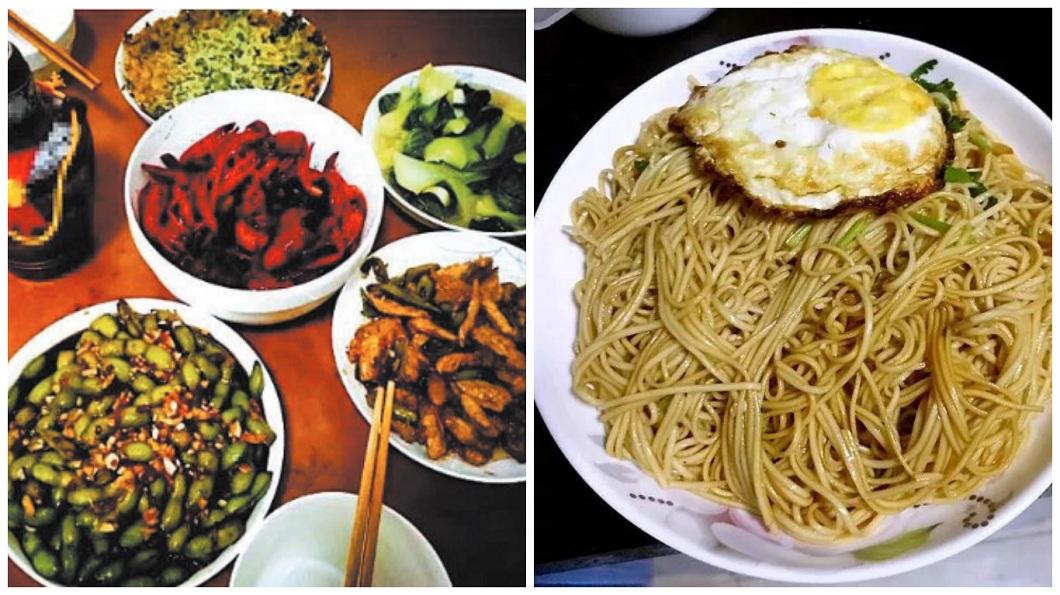 黃奇鑫的愛心早餐菜色豐富多元。