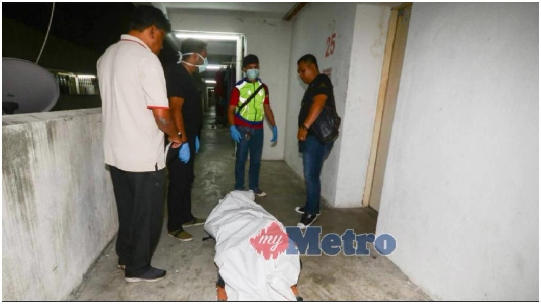 圖/取自《Harian Metro》 男吃醋殺女友 室友聞惡臭…撬開衣櫃屍體掉出