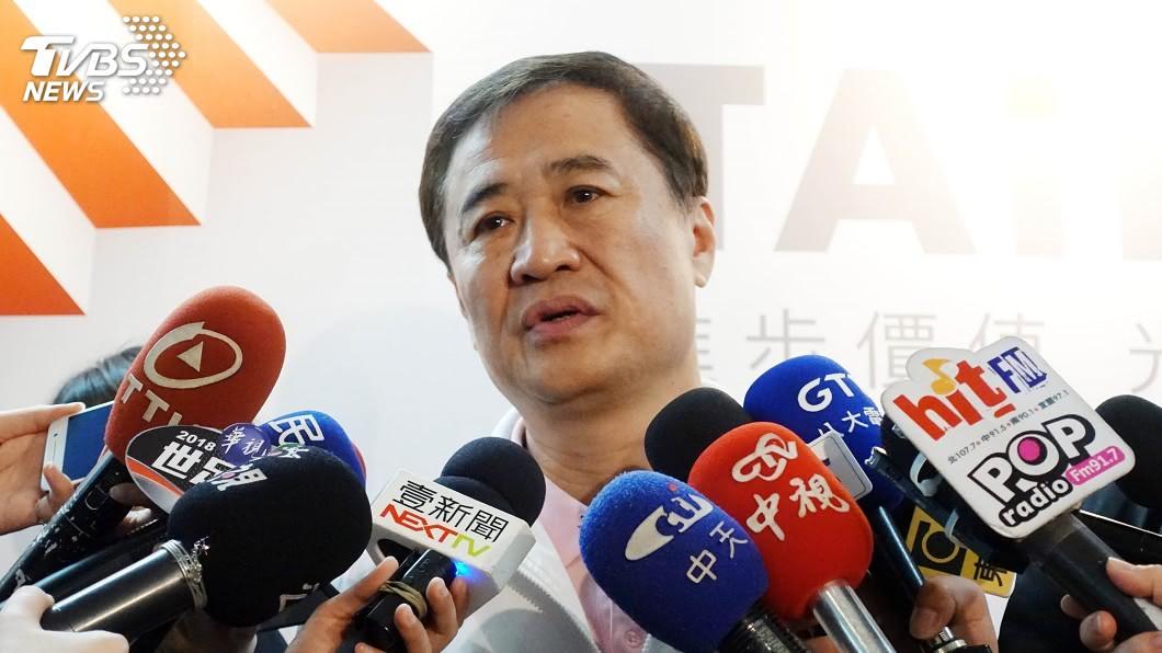 圖/中央社 陳景峻幫柯文哲站台 民進黨新北評委會調查