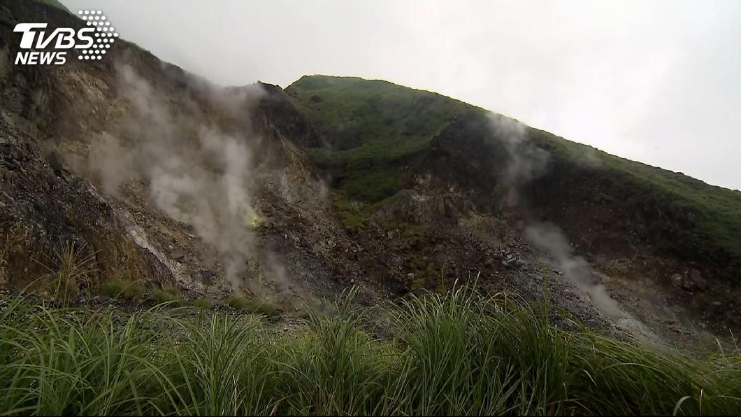 圖/TVBS資料畫面 北投地震屬火山能量釋放 學者:非岩漿噴發所致