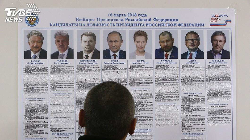 圖/達志影像路透社 俄羅斯總統大選 被遺忘的7位候選人