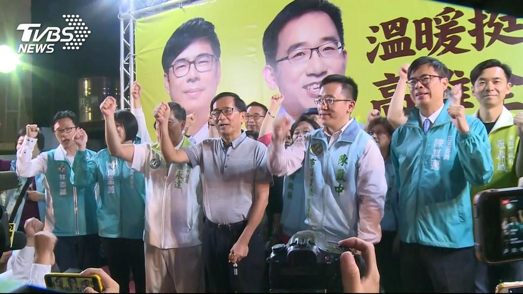 圖/TVBS 陳致中民調第一! 民進黨高市議員初選出線