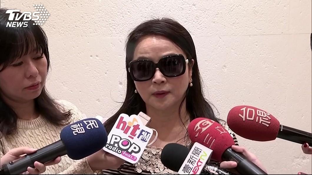 圖/TVBS資料畫面 指新台灣人基金會擁10億 周玉蔻判登報澄清確定