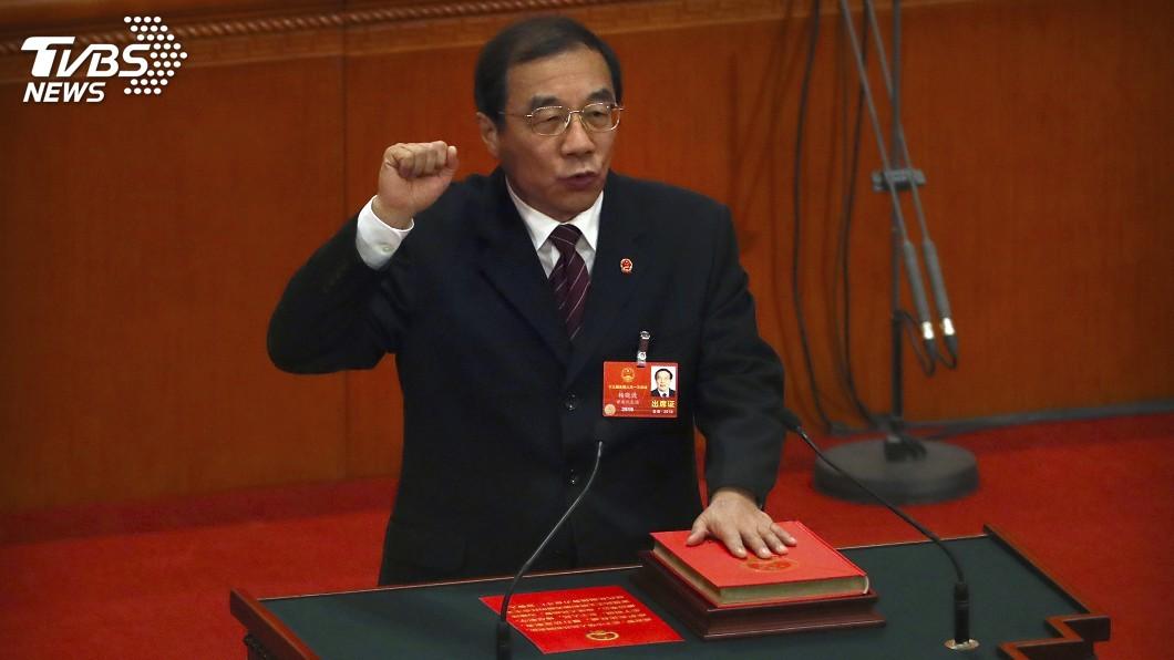 圖/達志影像美聯社 楊曉渡掌國監委 學者:仍是中紀委附屬