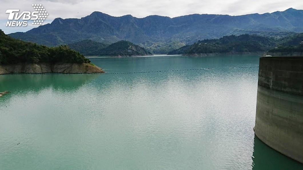 圖/中央社 台南水情吃緊 雲層多了待梅雨助益