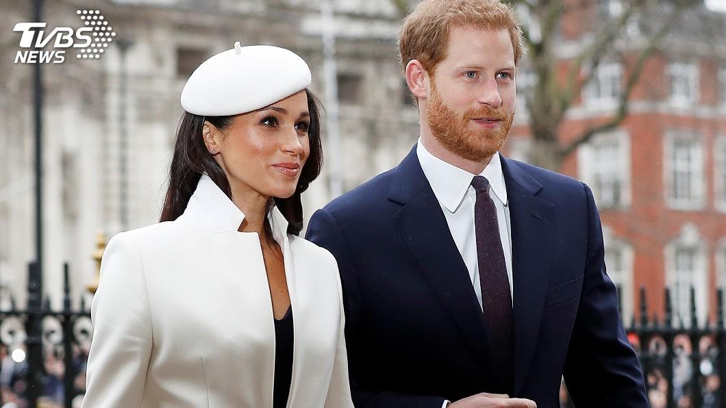 圖/達志影像路透社 哈利、梅根結婚蛋糕 要讓賓客嚐春天滋味