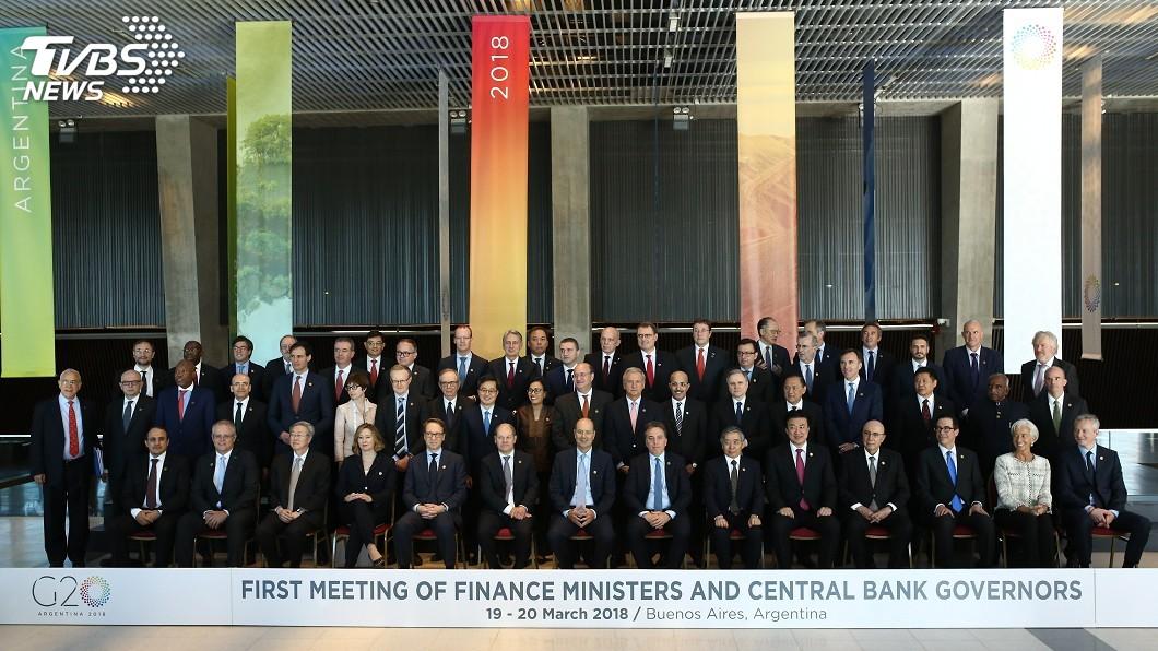 圖/達志影像美聯社 G20承認需展開對話 貿易戰疑慮仍未除