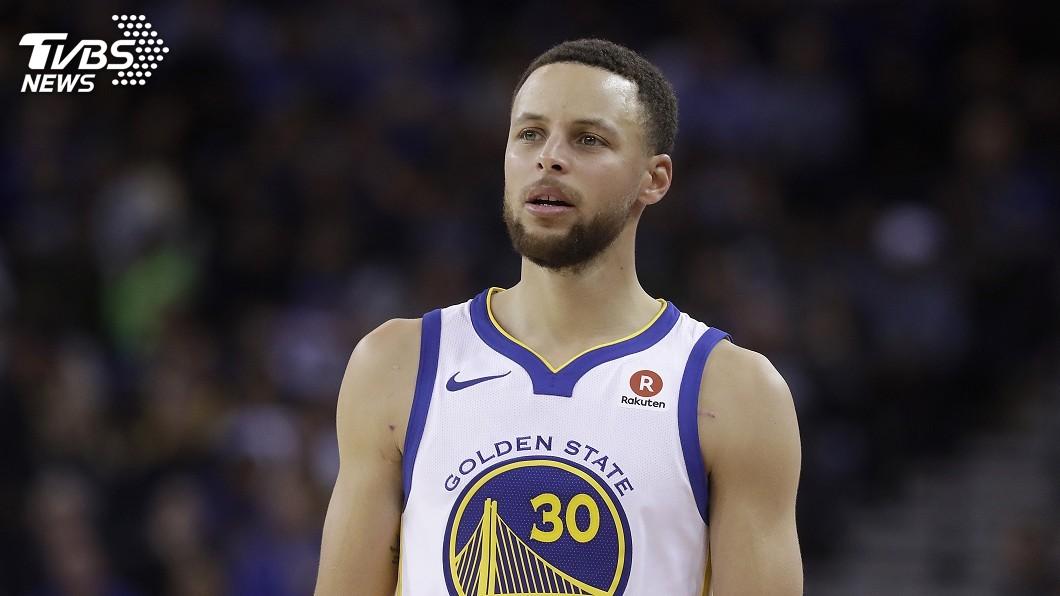 圖/達志影像美聯社 NBA明星後衛柯瑞 傳23日歸隊救火