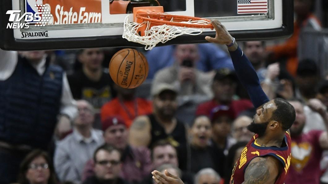 圖/達志影像路透社 NBA第一人!詹皇屠龍 35分17助攻0失誤
