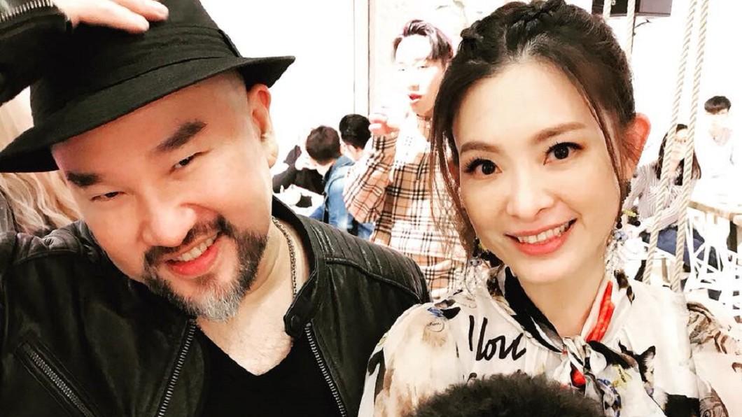 辛龍認為老婆劉真是他的幸運星。圖/翻攝自劉真臉書