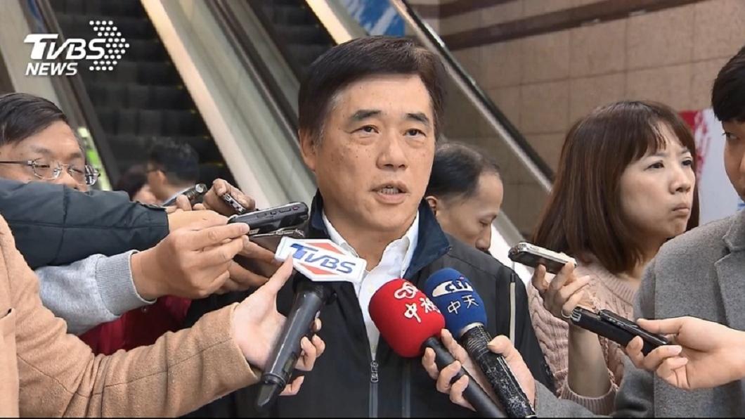 圖/TVBS資料畫面 盼韓誠意爭取支持 郝龍斌:郭退選是自己決定