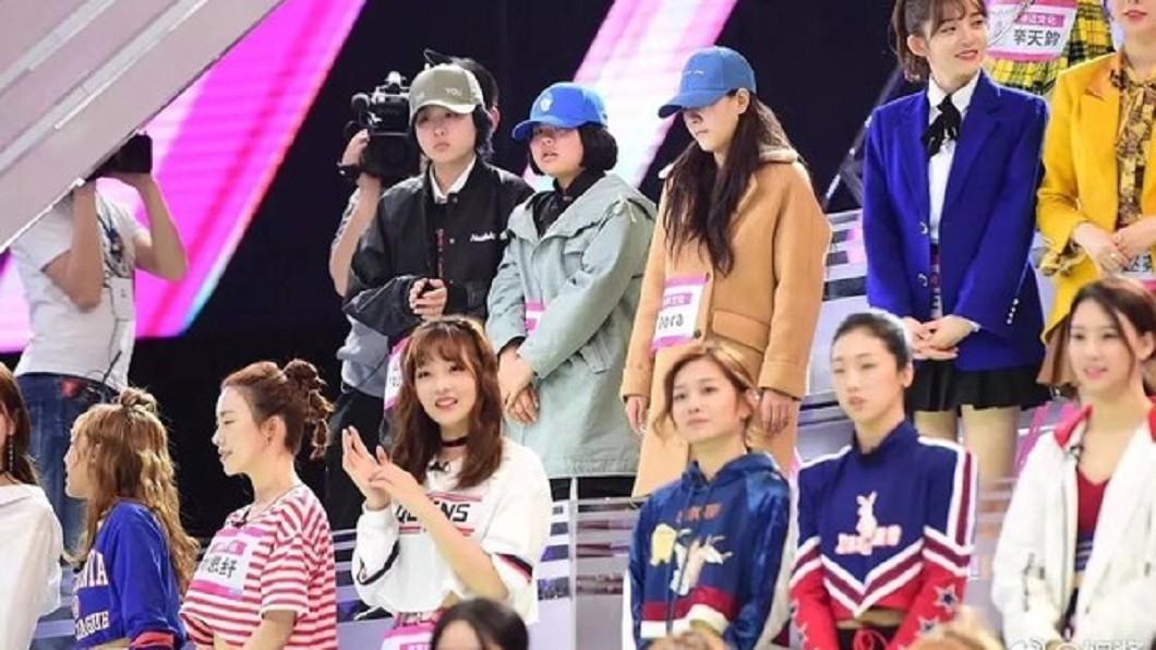 圖/翻攝自微博(下同) 陸版《101》參賽名單外流 驚見這些台灣女團成員!