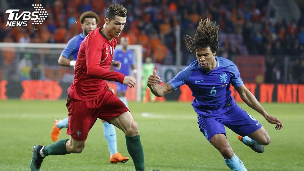 圖/達志影像美聯社 世界盃熱身賽 荷蘭3比0克葡萄牙