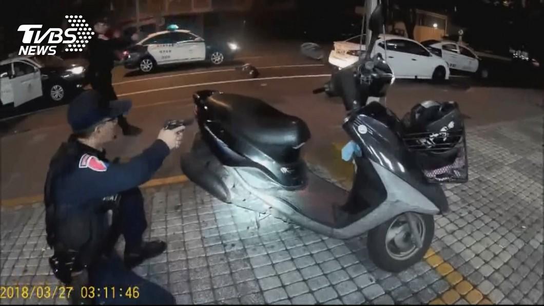 圖/TVBS 特警槍戰生死一瞬間 陳菊:天公有保庇